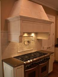 kitchen design ideas copper exterior range cap installed hood