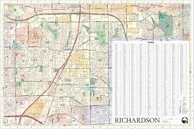 Texas Cities Map Richardson Texas City Map By Jczart On Deviantart