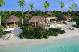 six senses laamu maldives two bedroom ocean beach villa with pool