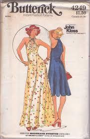 vintage dress 70 s slinky momspatterns vintage sewing patterns butterick 4249 vintage 70 s