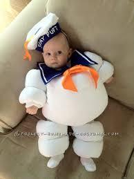 3 6 Month Halloween Costume Original Baby Halloween Costume Idea Stay Puft Marshmallow Baby