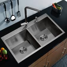 Two Handle Pull Down Kitchen Faucet Kitchen Moen Two Handle Kitchen Faucet Modern Kitchen Sink