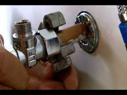 stop valves for bathroom sink how to install a water shut off valve for beginners youtube