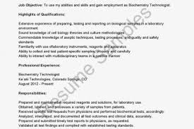 Facility Manager Resume Sample by Biochemistry Resume Template Reentrycorps