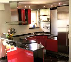 Mini Kitchen Design Kitchen Exciting Small Kitchen With Bar Design With Beige