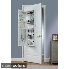 over the door cabinet halle over the door hanging jewelry armoire free shipping today