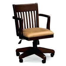 wooden rolling desk chair vintage wood rolling desk chair desk chair