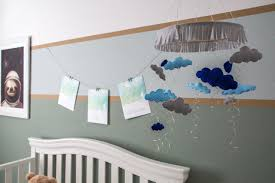 how to make an illuminated rain cloud mobile for a baby u0027s room hgtv