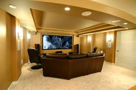 cool design ideas for finishing a basement finished basement ideas