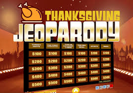 thanksgiving jeopardy trivia powerpoint youth