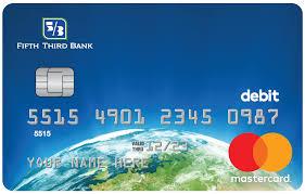 debit card gold debit card fifth third bank