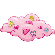 Stickers Muraux Nuages Blancs by Stickers Muraux Nuage Rose Leostickers
