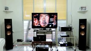 rf 42 ii home theater system the avengers on klipsch rf 82 ii reference youtube