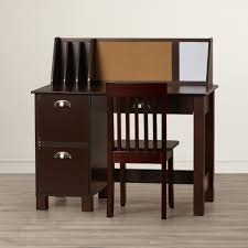 kids desks wayfair megan 35 75 w writing desk loversiq