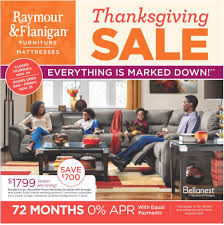 Furniture Sale Thanksgiving Raymour And Flanigan Black Friday 2017 Ad Funtober