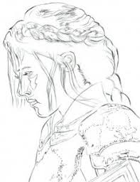 how to draw snow white and the huntsman kristen stewart step by
