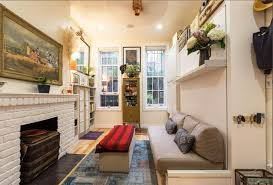 home design nyc couple fills a 242 square foot village apartment with brilliant