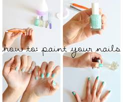 how to paint your nails 9 steps with pictures