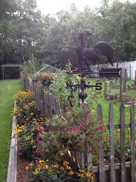 Garden Picket Fence Ideas Fence Garden Corner Garden Chsbahrain
