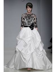 black and white wedding dresses with sleeves a trusted wedding