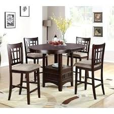 Table With Benches Set Counter Height Dining Table With Bench Set Room 8 Chairs Sets High