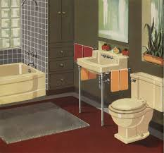 1930s Bathroom Sink Decorating A Yellow Bathroom Color History And Ideas From Five