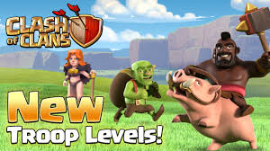 clash of clans u2013 new update valkyrie changes u0026 new troops levels