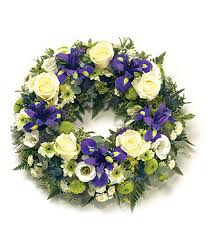 funeral wreaths traditional wreath flowers by design