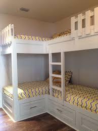 25 Best Wood Bunk Beds Ideas On Pinterest Rustic Bunk Beds by Best 25 Corner Bunk Beds Ideas On Pinterest Bunk Rooms Cabin
