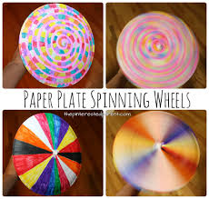 paper plate spinning wheel u2013 the pinterested parent