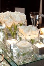 Photo Cubes Centerpieces by Corporate Event Decor Unique Pastiche Events