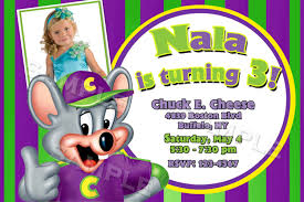 chuck e cheese birthday invitations blueklip com