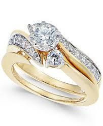 gold wedding rings sets wedding ring sets shop wedding ring sets macy s