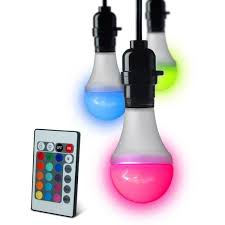 Changing Color Light Bulbs Color Changing Led Light Bulb The Coolest Stuff Ever