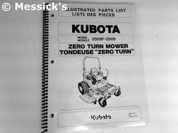 kubota zd28f with rops parts diagrams