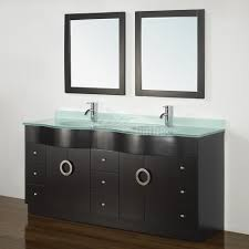 Best Place To Buy Bathroom Mirrors Zoe 72 Inch Contemporary Bathroom Vanity Green Glass Top