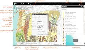 Portland State University Map by Oregon Geologic Data Compilation Help