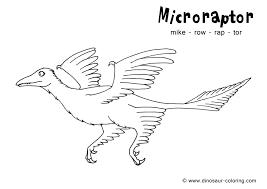 microraptor coloring