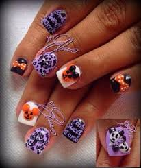 the haunted mansion by oli123 from nail art gallery nails