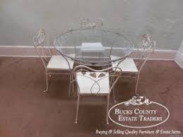 Wrought Iron Kitchen Tables by Glass Top Wrought Iron Dining Table Foter