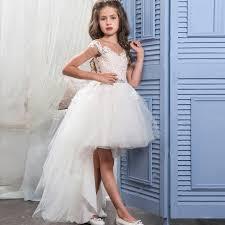 robe fille pour mariage fleur fille robes pour mariage haut bas petites filles