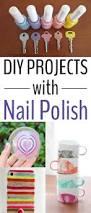 creative diy projects with nail polish