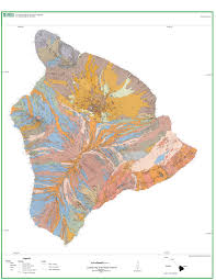 Usgs Long Island Sustainability Study Usgs Geologic Map Of The Island Of Hawai U0027i Map Hawaii Geology