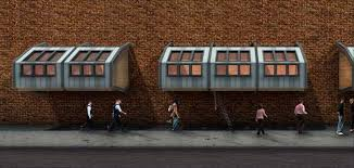 Sleeping Pods by Altruistic Architect Designs Pod Homes For Homeless