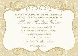 50th wedding anniversary invitations 50th wedding anniversary invitation