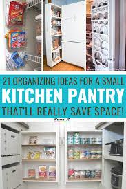 kitchen cabinet organization ideas 21 small kitchen pantry organization ideas to really save