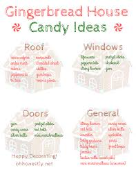 to decorate how to decorate a gingerbread house candy ideas printable