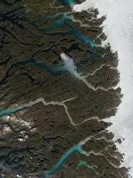 Wildfires In South West by Wildfire Burns In Icy Greenland Nasa