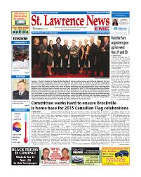 stlawrence112113 by metroland east st lawrence news issuu