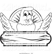 clip art of a bald eagle hawk or falcon wooden logo coloring